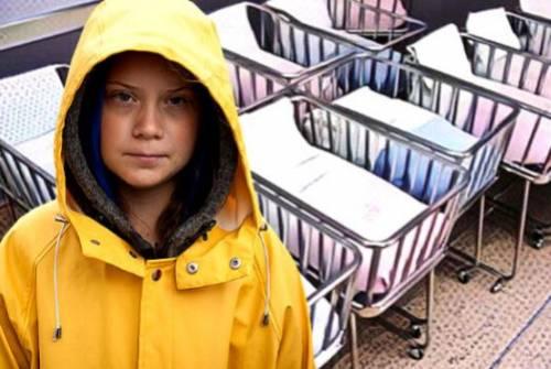 Avvisate Greta: l'emergenza è il crollo delle nascite