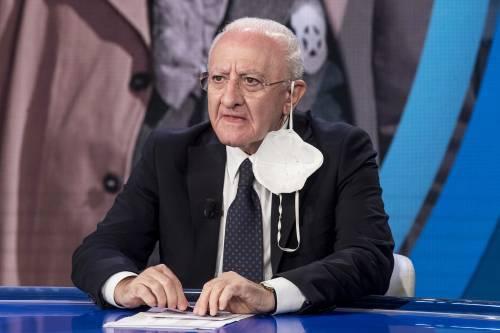Linea dura di Draghi contro la Campania: pronti a impugnare
