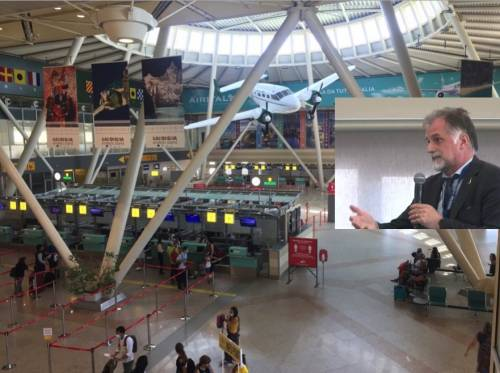Inaugurato all'aeroporto di Olbia l'hub per i test anti Covid, oltre 1500 esami al giorno