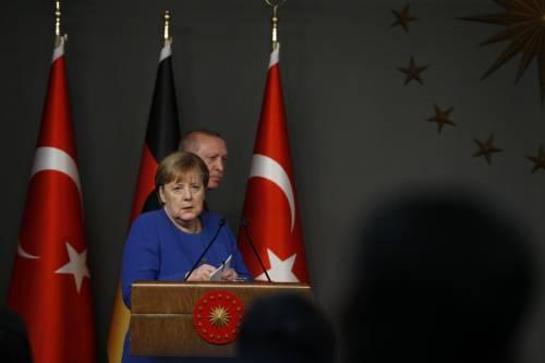 """Il """"giallo"""" su Draghi-Erdogan: ecco il piano della Germania"""