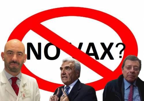 """La deriva """"criminale"""" dei no vax. Bassetti: """"Terroristi da punire"""""""