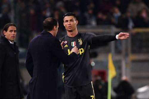 """""""Ti devi liberare di Ronaldo"""". La frase """"bomba"""" di Allegri sulla Juve"""