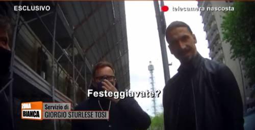 Ibrahimovic al ristorante: spunta il video che lo incastra