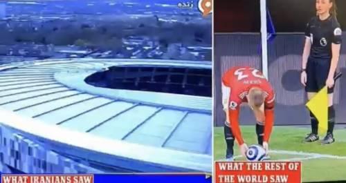 """Iran, Premier League """"censurata"""" cento volte: la guardalinee è una donna"""