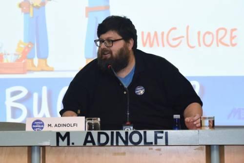 """Adinolfi: """"Bannato da Clubhouse per le mie idee sul ddl Zan"""""""