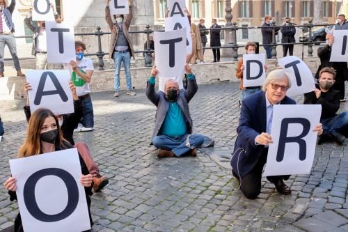 """Vittorio Sgarbi: """"Ecco cosa ho scritto a Speranza. Noi abbiamo rischiato la vita"""""""