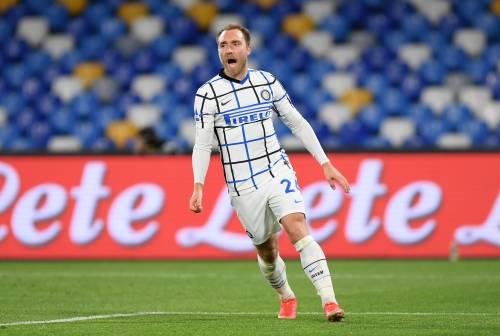 L'Inter si fa male da sola. Eriksen l'incompresa la salva