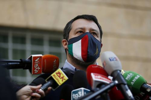 """Salvini in tv risponde a Fedez: """"Litigare non serve. Disponibile a un confronto per parlare di diritti"""""""