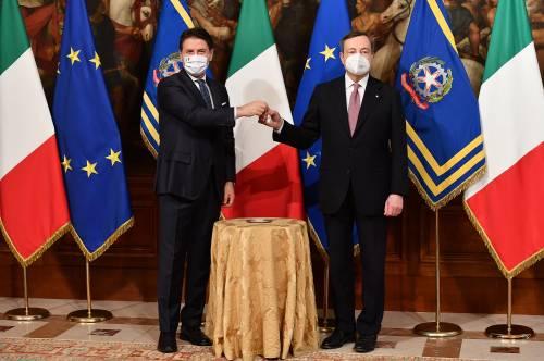 """""""In Italia più morti di tutti"""". Così Draghi inchioda l'era giallorossa"""