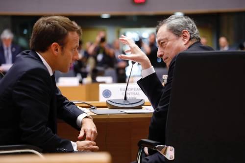 Sempre più saldo l'asse Draghi-Macron. E con Merkel in uscita ora Berlino trema