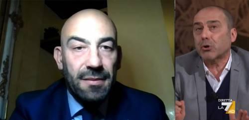 """""""Ma lei è medico...?"""": scontro totale in tv tra Bassetti e Casadio"""