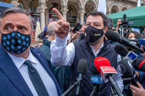 """Immigrazione, Salvini scrive a Draghi: """"Troppi sbarchi, inaccettabile"""""""
