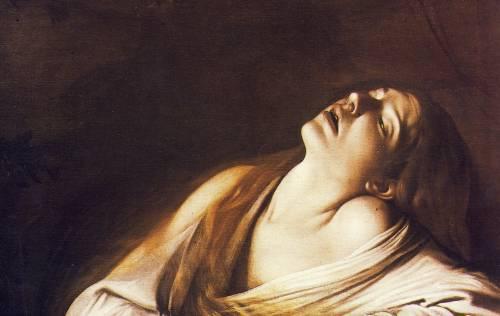 Caravaggio e Canova in estasi per la Maddalena
