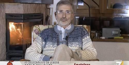 """""""Prima cosa scema, scema..."""": lite tv tra il medico e la Merlino"""