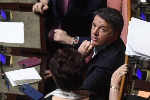 Il leader di Italia Viva Matteo Renzi