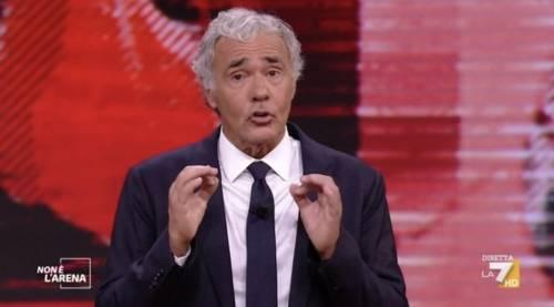 """Stoccata di Giletti alla Rai: """"Facciamo il vero servizio pubblico"""""""