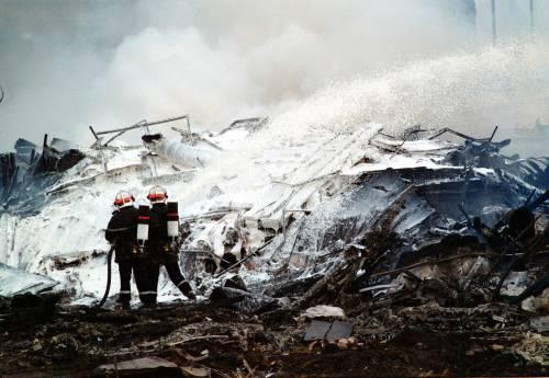 Le fiamme, poi lo schianto: il pezzo di metallo buttò a terra il Concorde