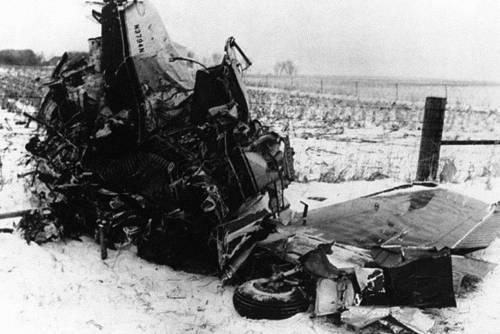 """La """"profezia"""", poi l'aereo cadde: il giorno in cui morì la musica"""