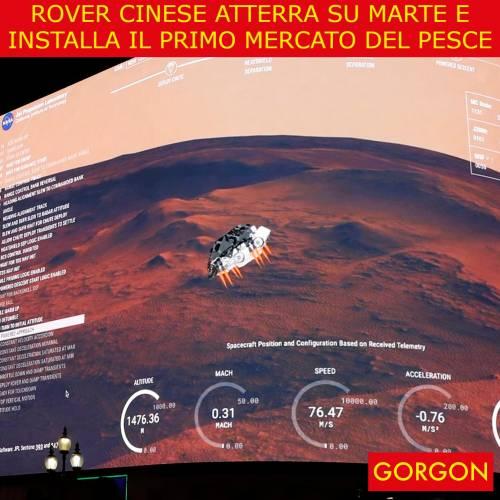 Ecco la satira del giorno. Rover cinese atterra su Marte