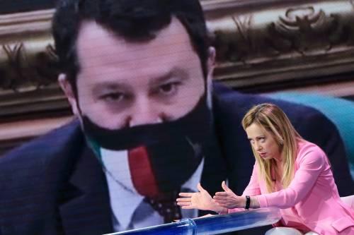 """La Meloni sfida Salvini: """"Pronta a fare il premier"""""""