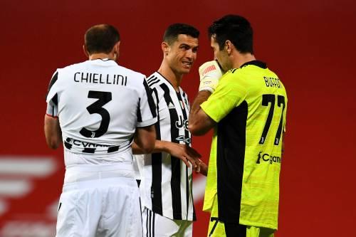 Le immagini più belle di Atalanta-Juventus. Bianconeri scatenati nei festeggiamenti