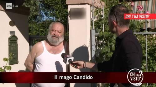 """""""Faccio seccare le p…"""", la frase choc del Mago Candido"""