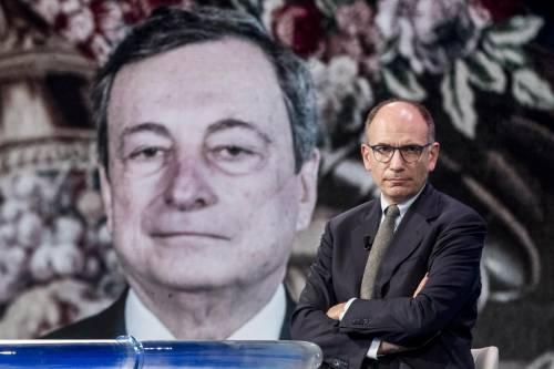 La tassa di Letta irrita Draghi: malumori anche nel Pd