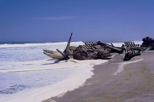 Skeleton Coast, il luogo infernale che terrorizza i marinai