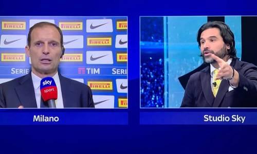 """Adani """"massacra"""" Allegri: """"Vince lo scudetto ma..."""""""