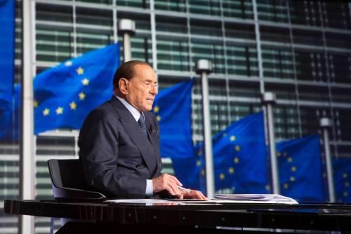 """""""L'europeismo scelta di campo"""": Berlusconi detta la linea"""