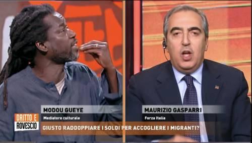 """""""Fate i razzisti in casa nostra"""": Gasparri sbotta contro il mediatore"""