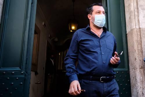 """Salvini: """"Al lavoro perché centrodestra voti e parli con una voce sola"""""""