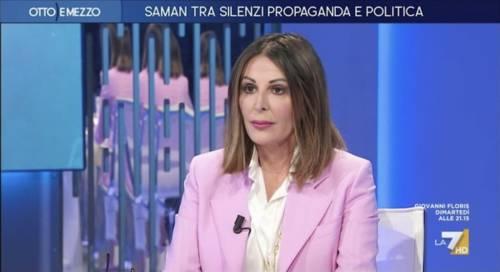 """In 3 contro uno..."": la Santanchè gela la Gruber in tv"