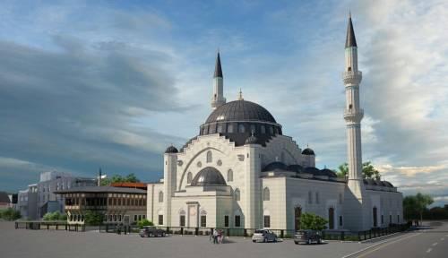 Moschea Eyyub Sultan in costruzione: sarà la più grande d'Europa