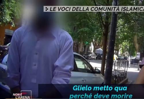 """La minaccia choc dell'islamico: """"Vi dico quando la donna va accoltellata"""""""