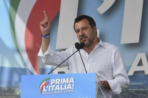 """Salvini torna in piazza: """"Centrodestra unito per la libertà degli italiani"""""""