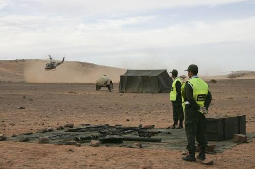 Quel tratto di deserto che può scatenare una guerra
