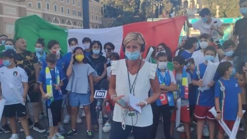 """Imprevisto per Valentina Bisti prima del Tg1: """"Folla agguerrita e parolacce"""""""
