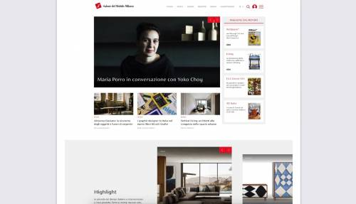 Salone del Mobile, online la piattaforma digitale del design