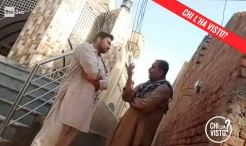 A sinistra, il promesso sposo di Saman Abbas scelto dalla famiglia
