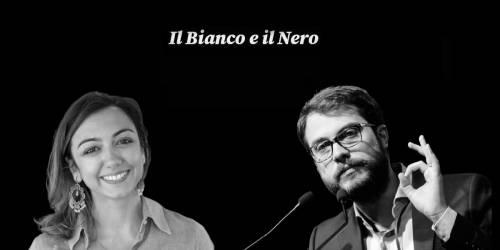 """Il bianco e il nero, Montaruli: """"Fedez? Grillismo versione luxury"""" Raciti: """"Oggi molti politici sembrano influencer..."""""""