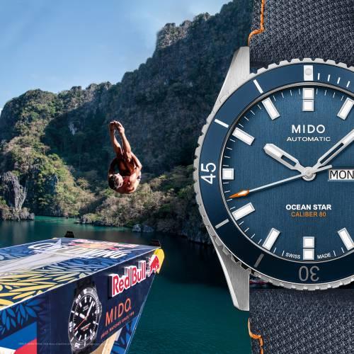 Mido Ocean Star per Redbull Cliff Diving