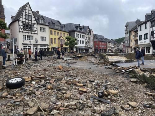L'alluvione in Germania