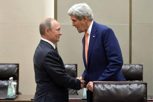 Kerry incontra Putin, non solo per parlare del tempo...