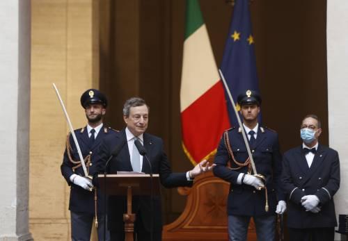 Draghi fa sponda con il Quirinale. E rimbalza Conte sulla Giustizia: nessuna modifica