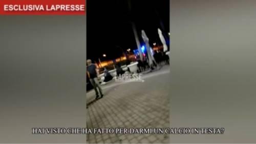 """""""Un calcio in testa"""". Spunta video dopo lo sparo a Voghera"""