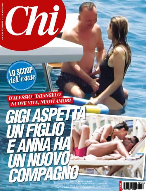 """Esplode il gossip dell'estate: """"La Tatangelo sta col rapper. D'Alessio diventa papà"""""""