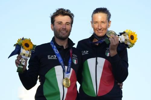 Lo show di Tita e Banti. Italia, il primo oro misto arriva nella Formula vela