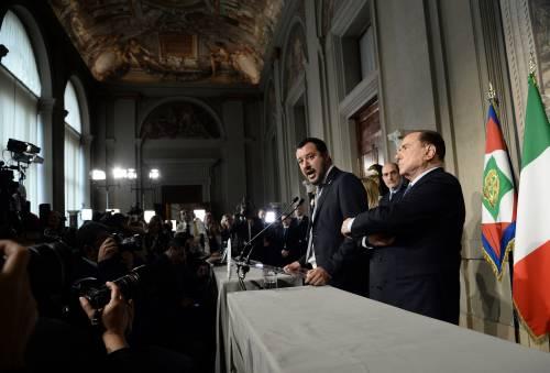 Salvini lancia Berlusconi al Colle e blinda Draghi premier
