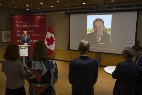 Ritorsione cinese, canadesi in galera